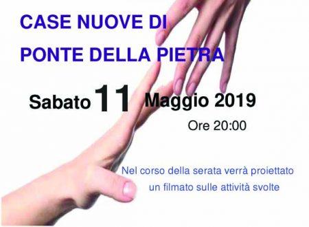 CENA DI SOLIDARIETA' – 11 MAGGIO 2019